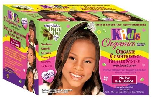 Africa's Best Organics Kids No-Lye Relaxer Kit Regular