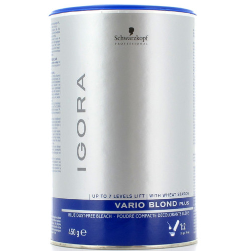 Schwarzkopf IGORA Vario Blond Plus  Hair Bleach Powder 450g