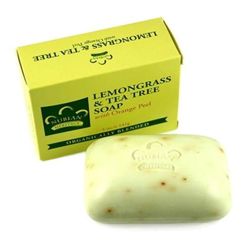Nubian Lemongrass & Tea Tree Soap 5oz