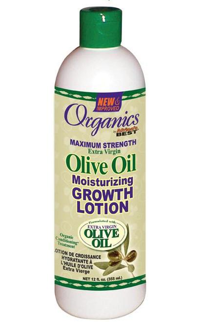 Africa's Best Organic Olive Oil Moisturizing Growth Lotion 12oz