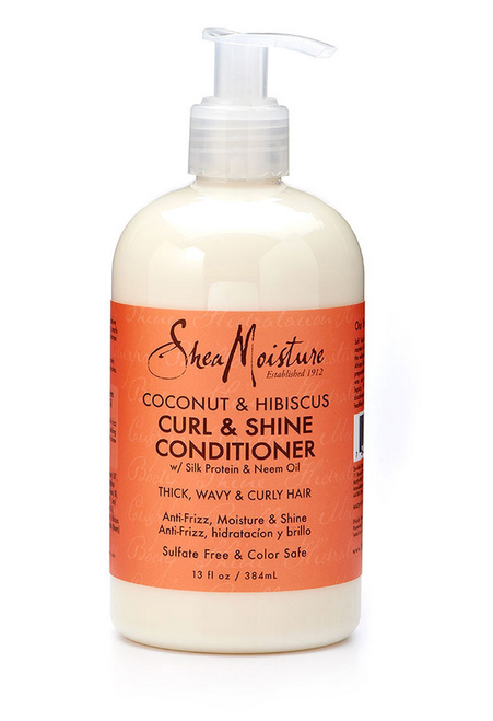 Shea Mositure Coconut & Hibiscus Curl & Shine Conditioner 13oz
