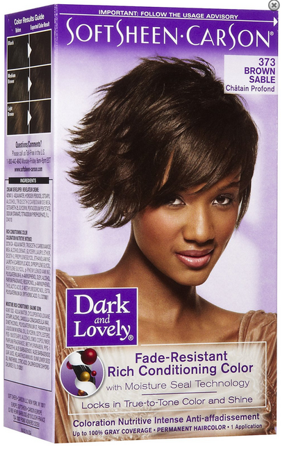Dark & Lovely Rich Conditioning Hair Color - Brown Sable