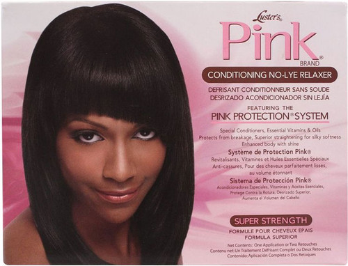 Luster's Pink Conditioning No-Lye Relaxer Super