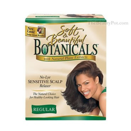 Botanicals No-Lye Sensitive Scalp Relaxer Kit Regular