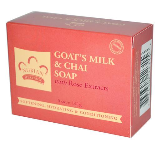 Nubian Goat's Milk & Chai Soap 5oz