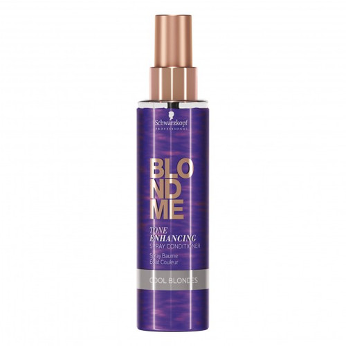 Schwarzkopf Blondme Tone Enhancing Spray Conditioner Cool Blonde 150ml