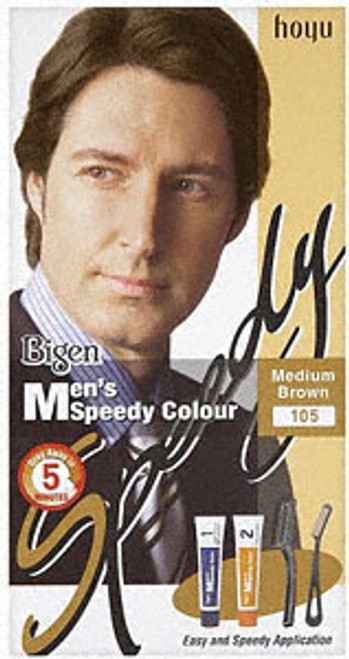 Bigen Mens Hair Colour Medium Brown