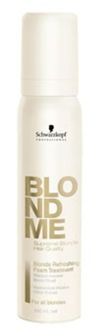Schwarzkopf BLONDME Blonde Refreshing Foam Treatment 92g
