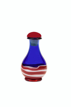 Patriot Tear Bottle - Optional Trays/Mirrors and Domes Sold Separately