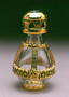 Gold Banded Roma Tear Bottle