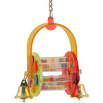 Arch Puzzle Time Acrylic Parrot Toy