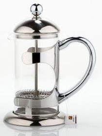 Caffe Arts™  6 Cup / 27 Ounce Stainless Steel French Press