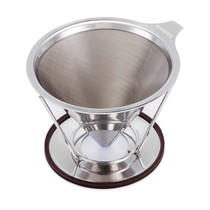 Caffe Arts™ Stainless Steel Pour Over Cone Dripper