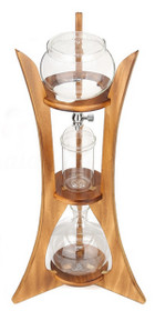 Caffe Arts™ 8 Cup Oakwood Cold Brew / Cold Drip Tower