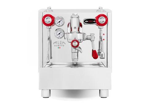 Izzo Alex Duetto 4 Espresso Machine - Red Accents