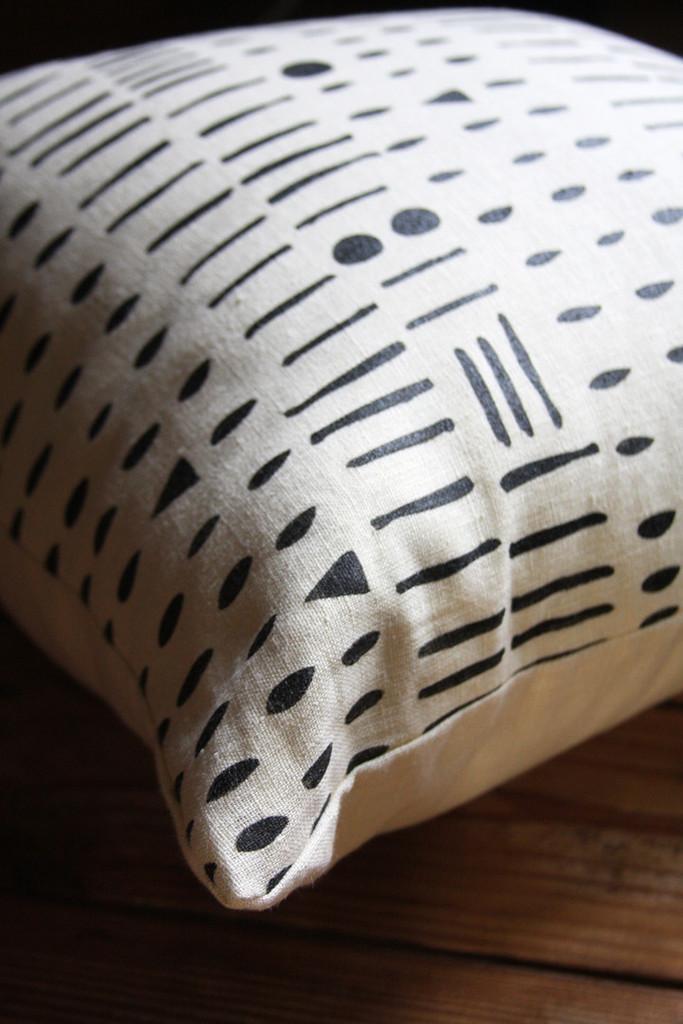 Morse Code Pillow