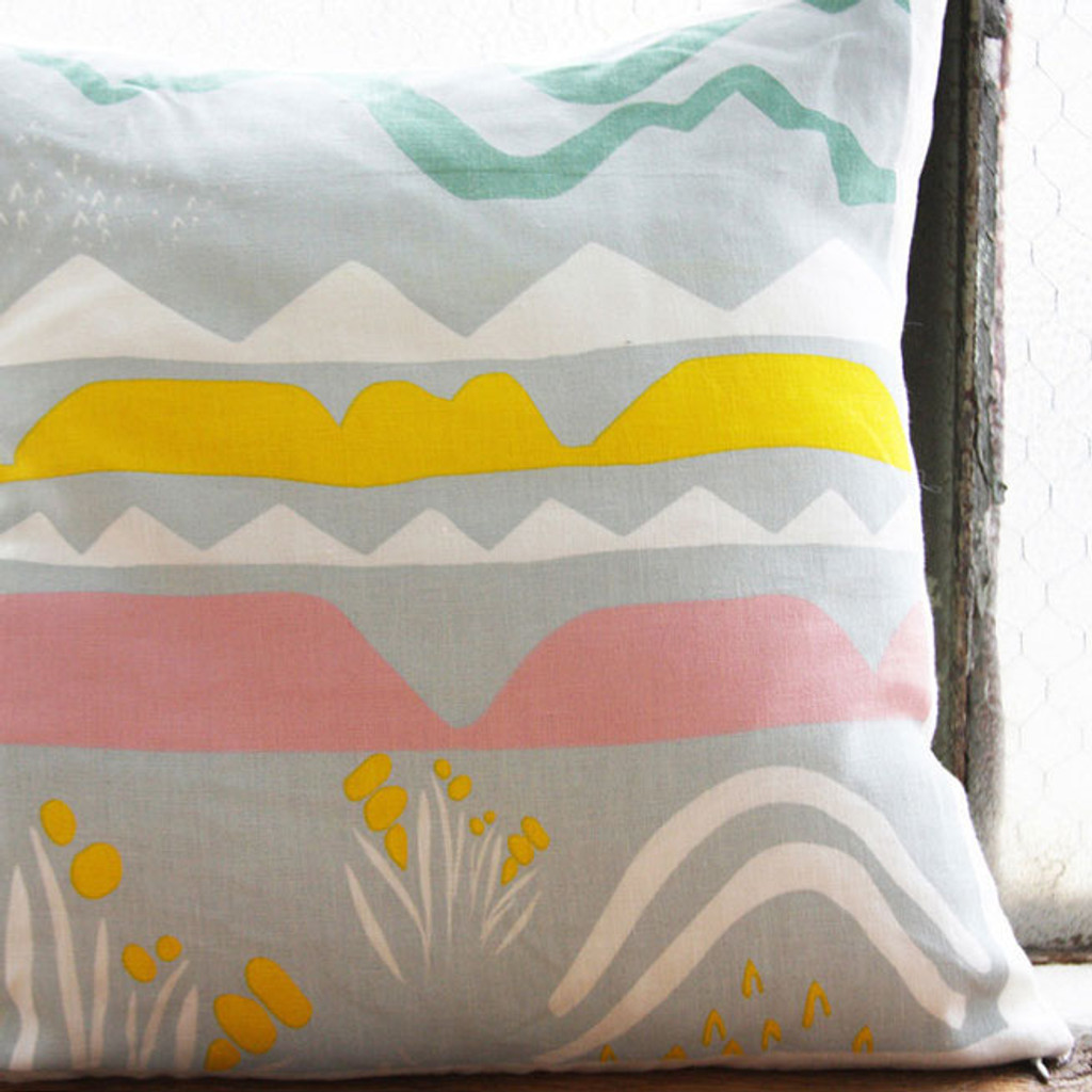 Landscape Pillow Cover