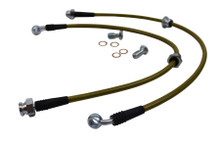 ISR Performance Stainless Steel Front Brake Lines - Nissan 240sx S13/S14