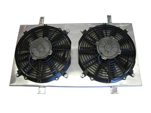 ISR Performance Radiator Fan Shroud Kit - Nissan KA24DE S13