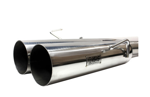 ISR Performance EP (Straight Pipes) Dual Tip Exhaust - Nissan 240sx 95-98 (S14) - 4""