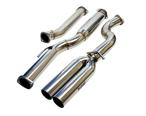 ISR Performance EP (Straight Pipes) Dual Tip Exhaust - Hyundai Genesis Coupe 2.0T 09+