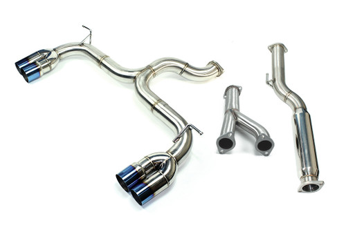 ISR Performance Race Exhaust - Hyundai Genesis Coupe 3.8 V6 09-13