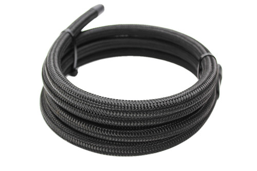ISR Performance -10AN Black Nylon AN Hose - (Per Foot)