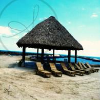 Cucumber Beach Hut and Chairs