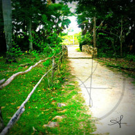 Bacab Fence Wooden Bridge