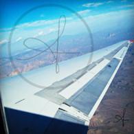 Arizona from Airplane Wing