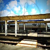 Amtrak Arrival Burlington Station