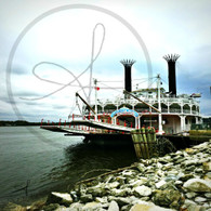 Americcan Queen on the Mississippi
