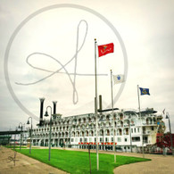American Queen and Flags