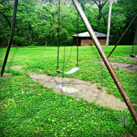 Crapo Park Swing and Shadow