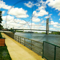 Bridge and Port from Riverfront Park