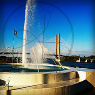 Burlington Riverfront Fountain