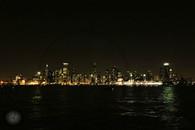 Chicago Skyline at Night 8x10