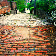 Cobblestone Alley Bricks Top