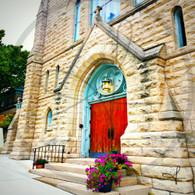 St Paul Church Front Door