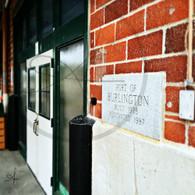 Port of Burlington Cornerstone Sign