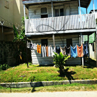 Belize Laundry Drying