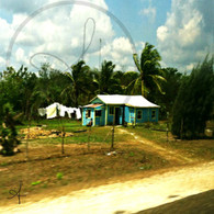 Belize Blue House and Laundry
