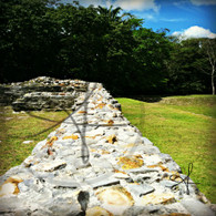 Altun Ha Stone Wall