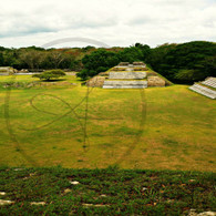 Altun Ha Ruins View
