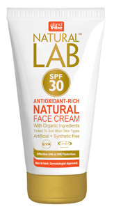 Natural Lab™ -  high protection broad-spectrum moisturising Face Cream with SPF 30 - 50ml