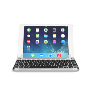 Brydge Wireless Keyboard with backlit keys for iPad mini 1, 2 and 3 – Aluminum