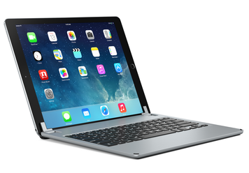BrydgePro - Aluminium Bluetooth Keyboard for iPad Pro - Space Grey
