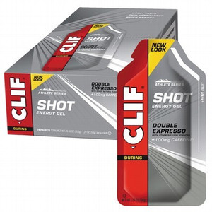 CLIF SHOT -  Double Expresso Energy Gel SHOT (24x34) Provides quick energy to athletes.