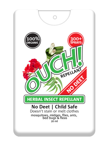 Ouch! 20ml I100% Organic Insect Repellent