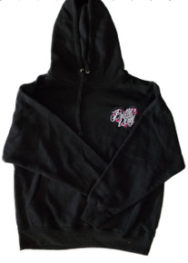 Black Pretty Dirty Heart Hoodie